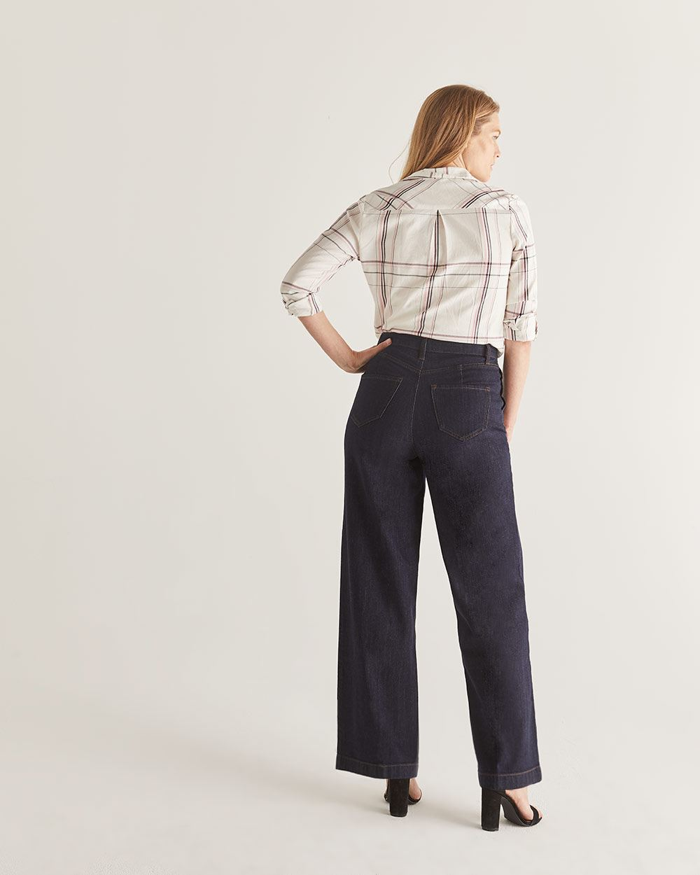 High-Waisted Wide Leg Jeans - Tall