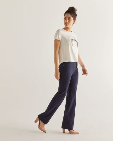 The Iconic Bootcut Pull On Pants - Tall