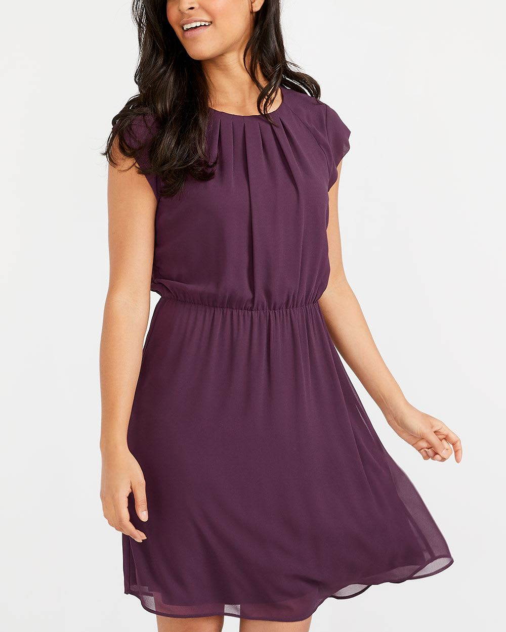 205e936ea5e2 Cap Sleeve Dress | Regular | Reitmans
