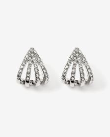 Rhinestones Snug Earrings