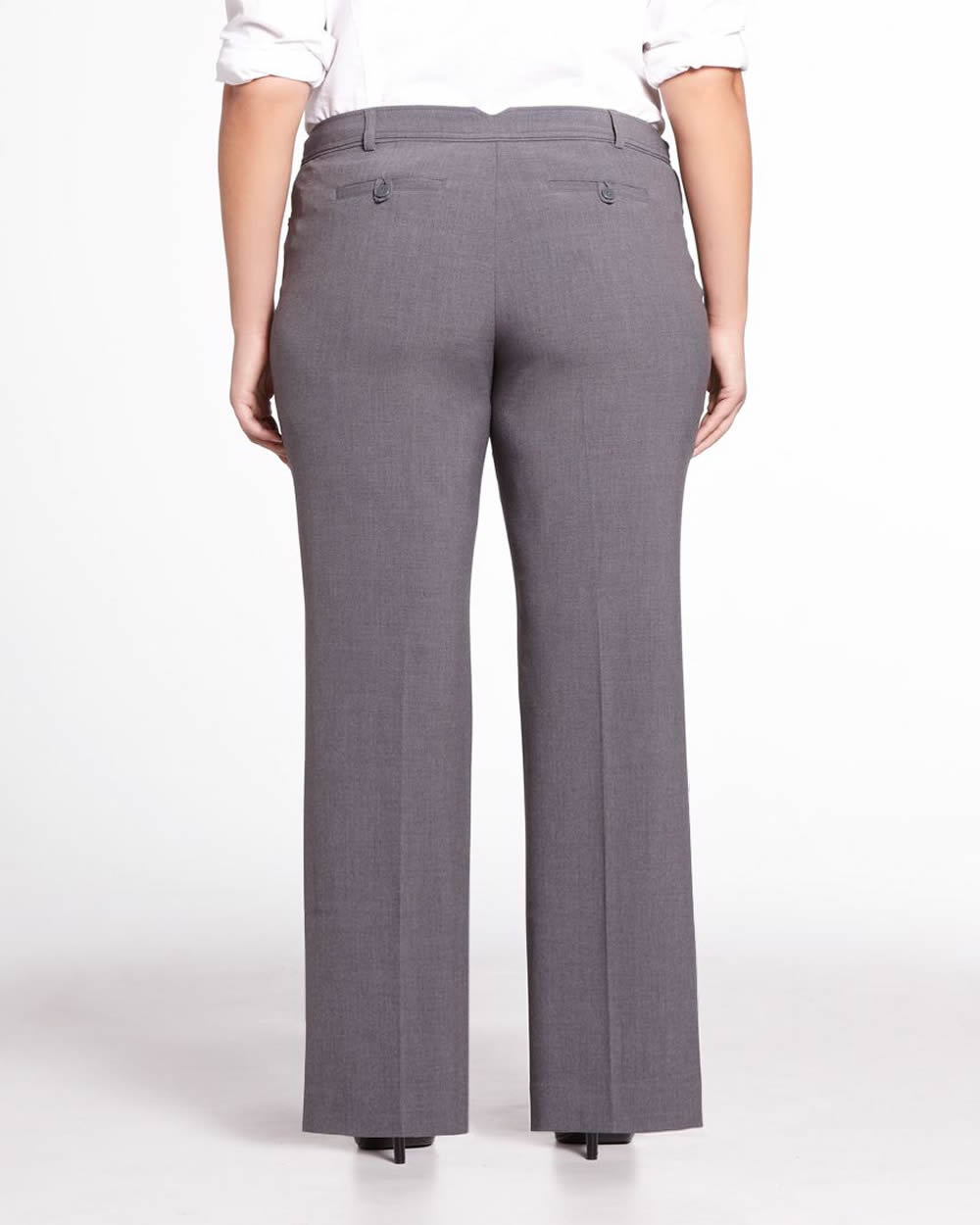 2cacb19b911 Plus Petite Wide Leg Dress Pants