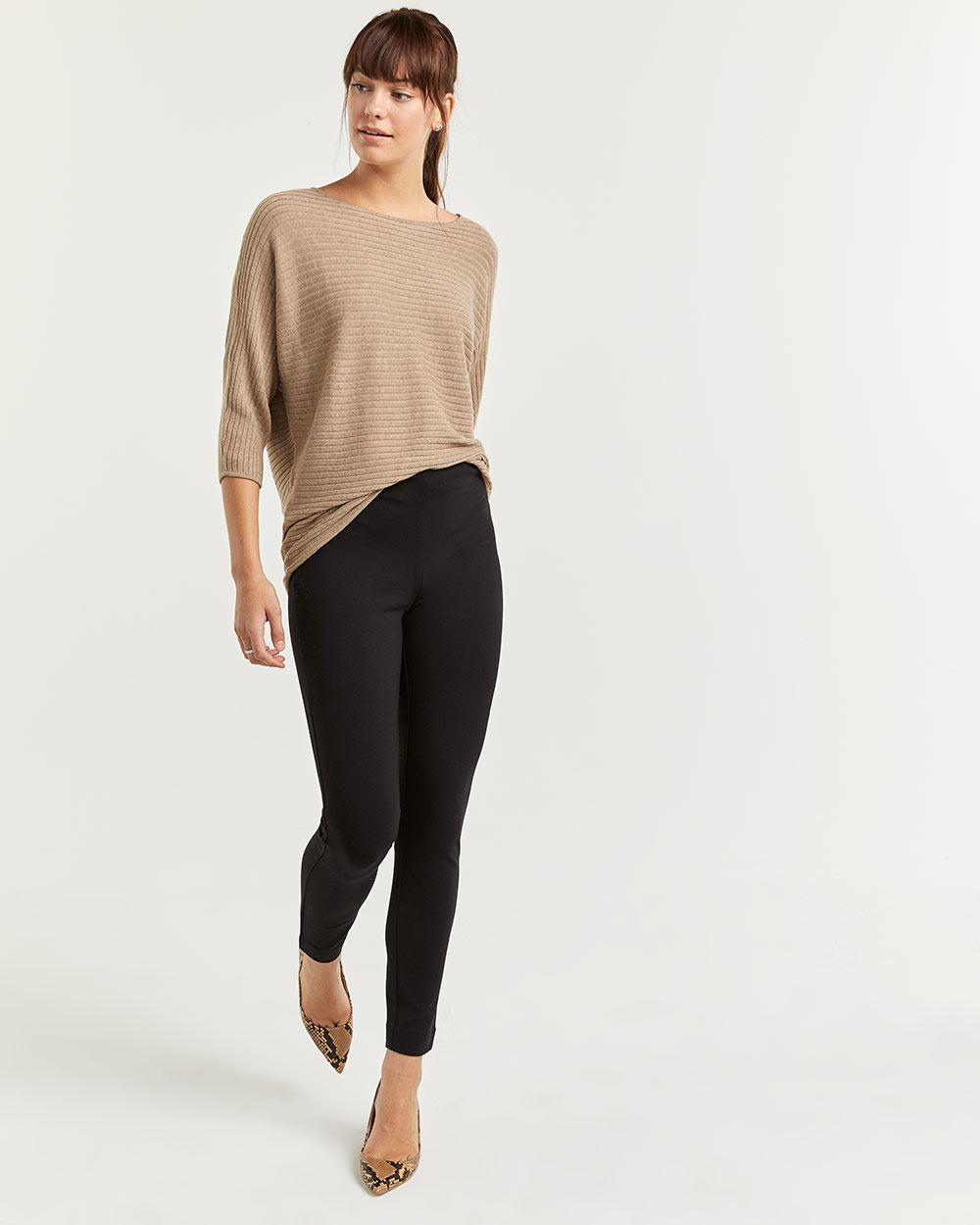 The Modern Stretch Black Leggings - Petite