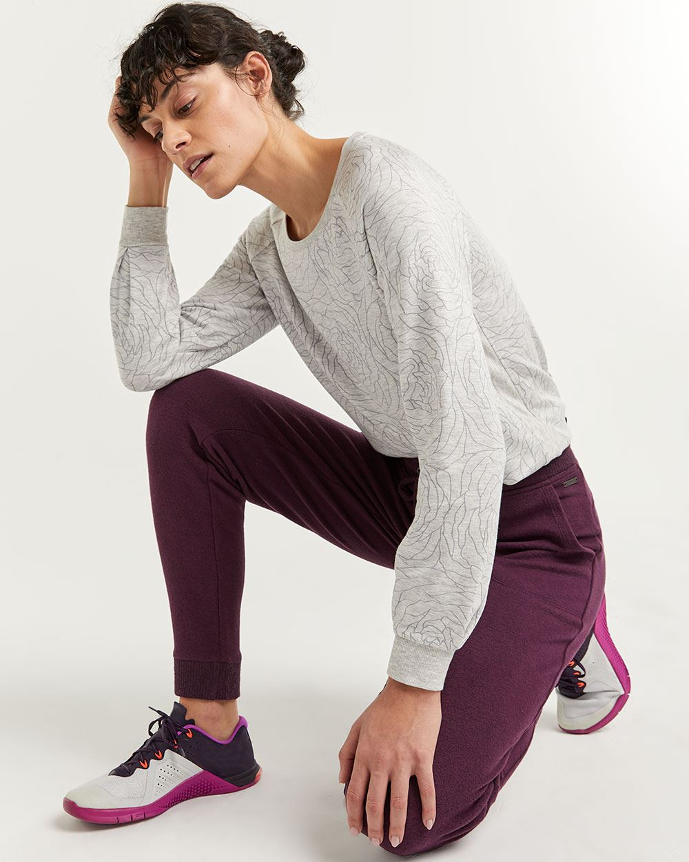 Hyba Brushed Knit Jogger Pants