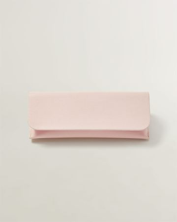 Pink Sunglasses Case with Flap