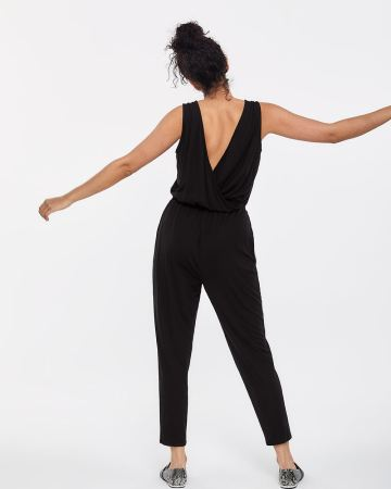 Cross Details Jumpsuit