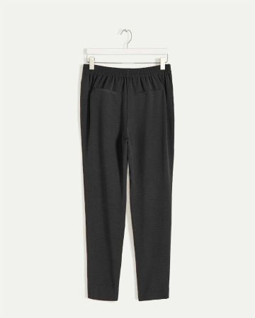 Tapered Pull On Pants with Drawstring