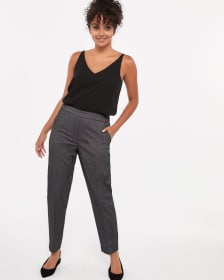 Elastic Waist Pull-on Pattern Pants