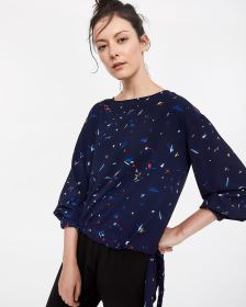 Willow & Thread Side Ties Blouse