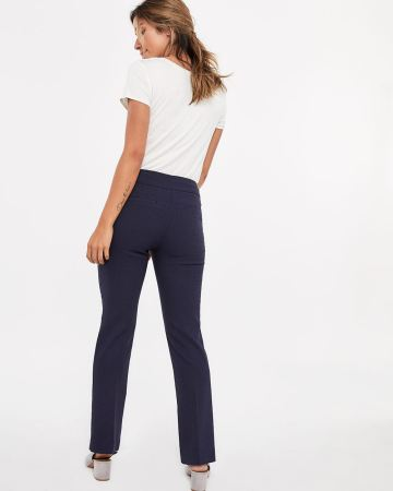 The Iconic Boot Cut Pattern Pants