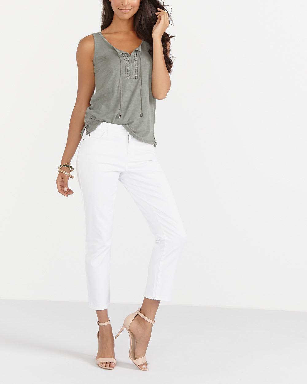 6f47fe60d141 Petite Sleeveless T-Shirt | Petites | Reitmans