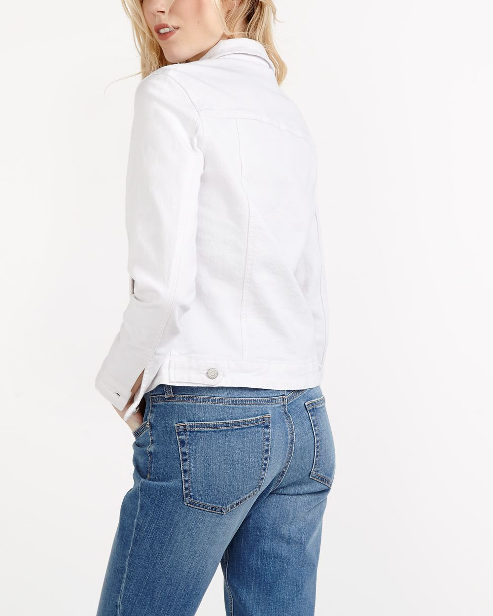White Jean Jacket | Women | Reitmans