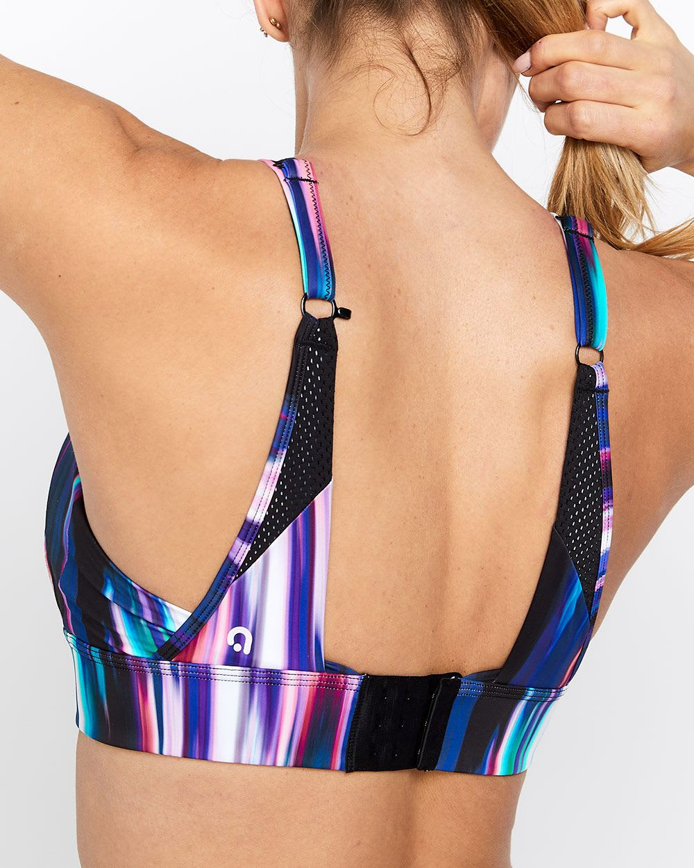Hyba Printed High-Support Sports Bra