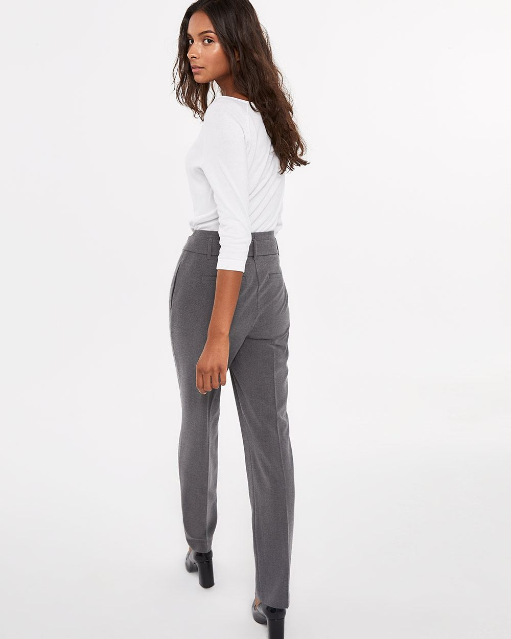 Tall Belted Straight Leg Pants