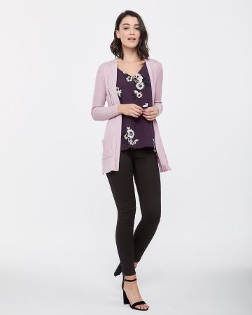 Open Cardigan with Pockets