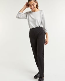 Slim Black Pants with Pockets Hyba - Tall
