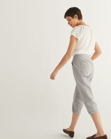 Cotton Capri with Pockets