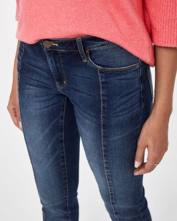 Petite Front Seam Skinny Jeans