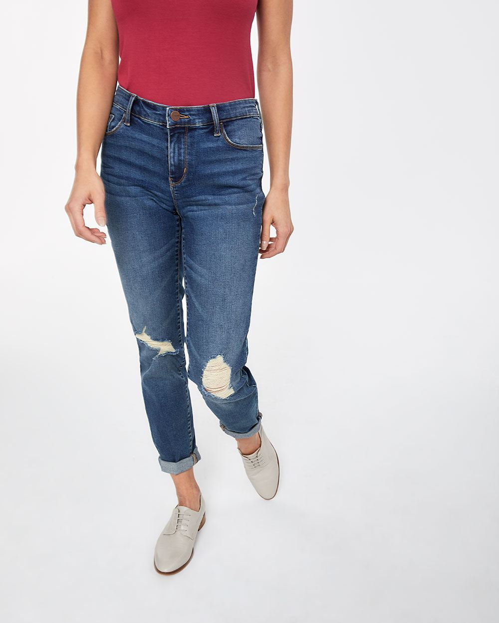 3dfdf9b7d2 The Insider Rip Medium Wash Skinny Jeans