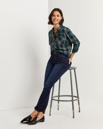 Plaid Shirt with Pocket