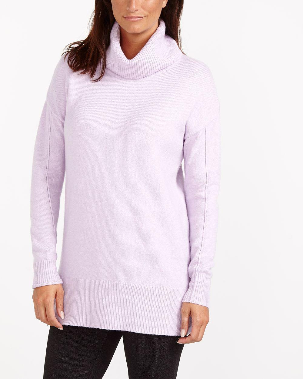Zip Side Cowl Neck Sweater Women Reitmans
