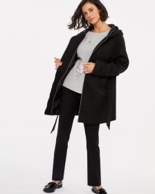 Dolman Sleeve Oversized Coat