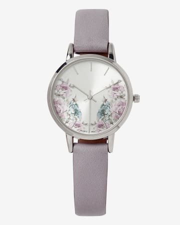 Floral Band Watch