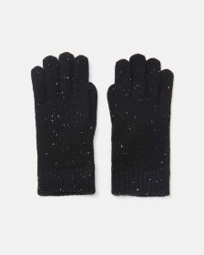 Speckled Chenille Gloves