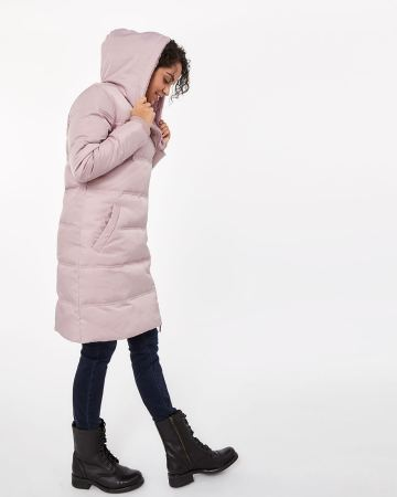 Asymmetric Quilted Coat
