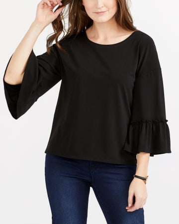 Wide ¾ Sleeve Top