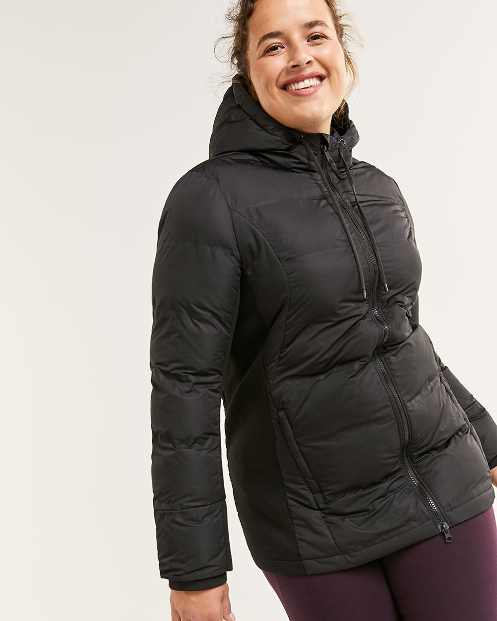 Hooded Quilted Jacket Hyba