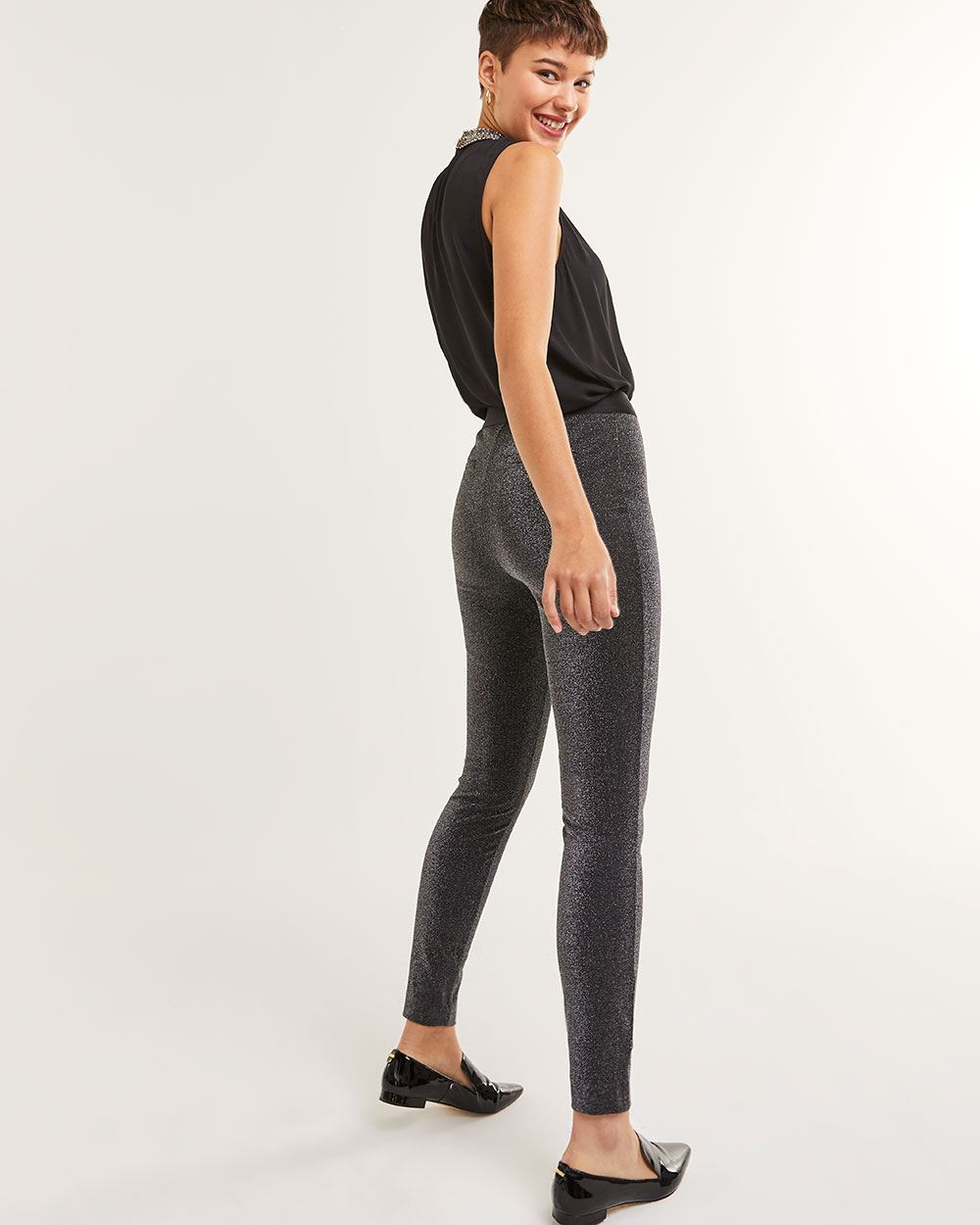 High Rise Shimmer Leggings