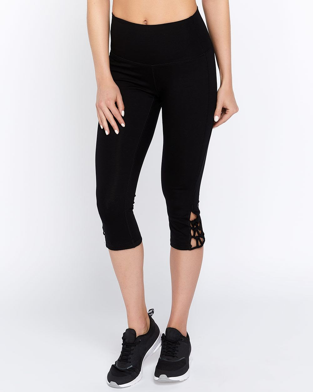 Hyba Lattice Capri Legging