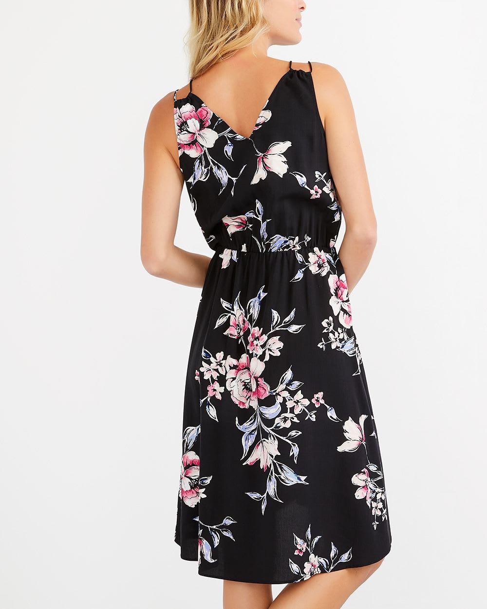 robe cache coeur fleurie sans manches femmes reitmans. Black Bedroom Furniture Sets. Home Design Ideas