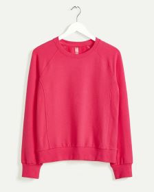 Long Sleeve Ribbed Sweatshirt Hyba