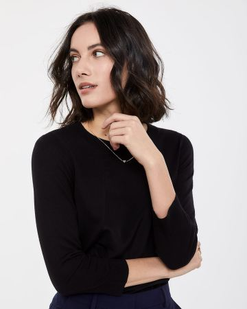 Willow & Thread Mix Media Sweater