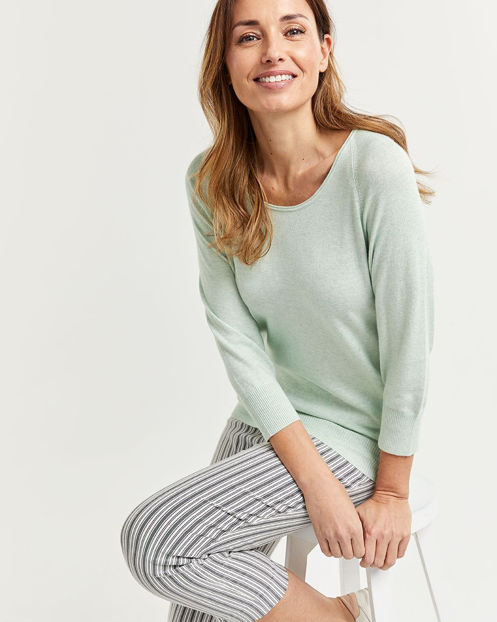 3/4 Dolman Sleeve Sweater