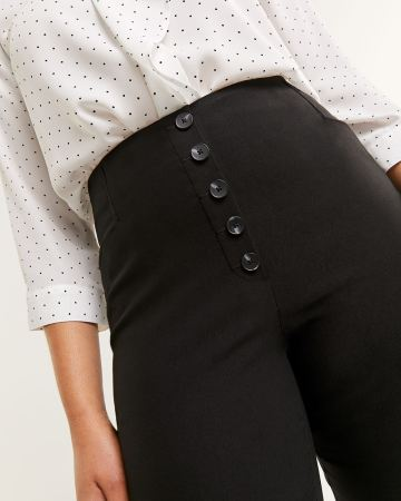 High Rise Slim Pull On Pants The Iconic - Tall