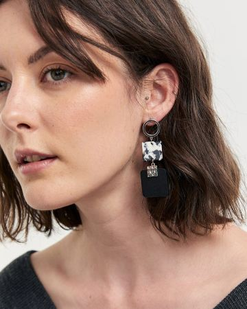 3-Piece Drop Earrings