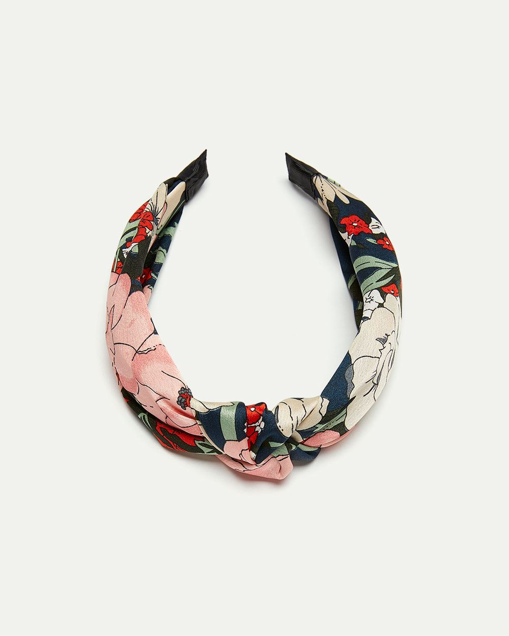 Floral Print Knotted Headband