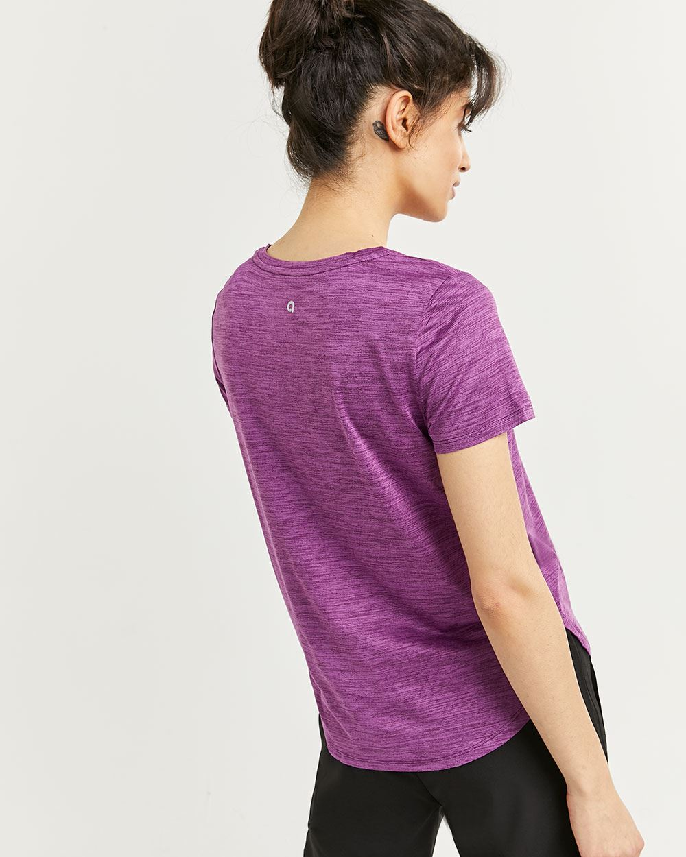 V-Neck Short Sleeve Ultra Soft Tee Hyba