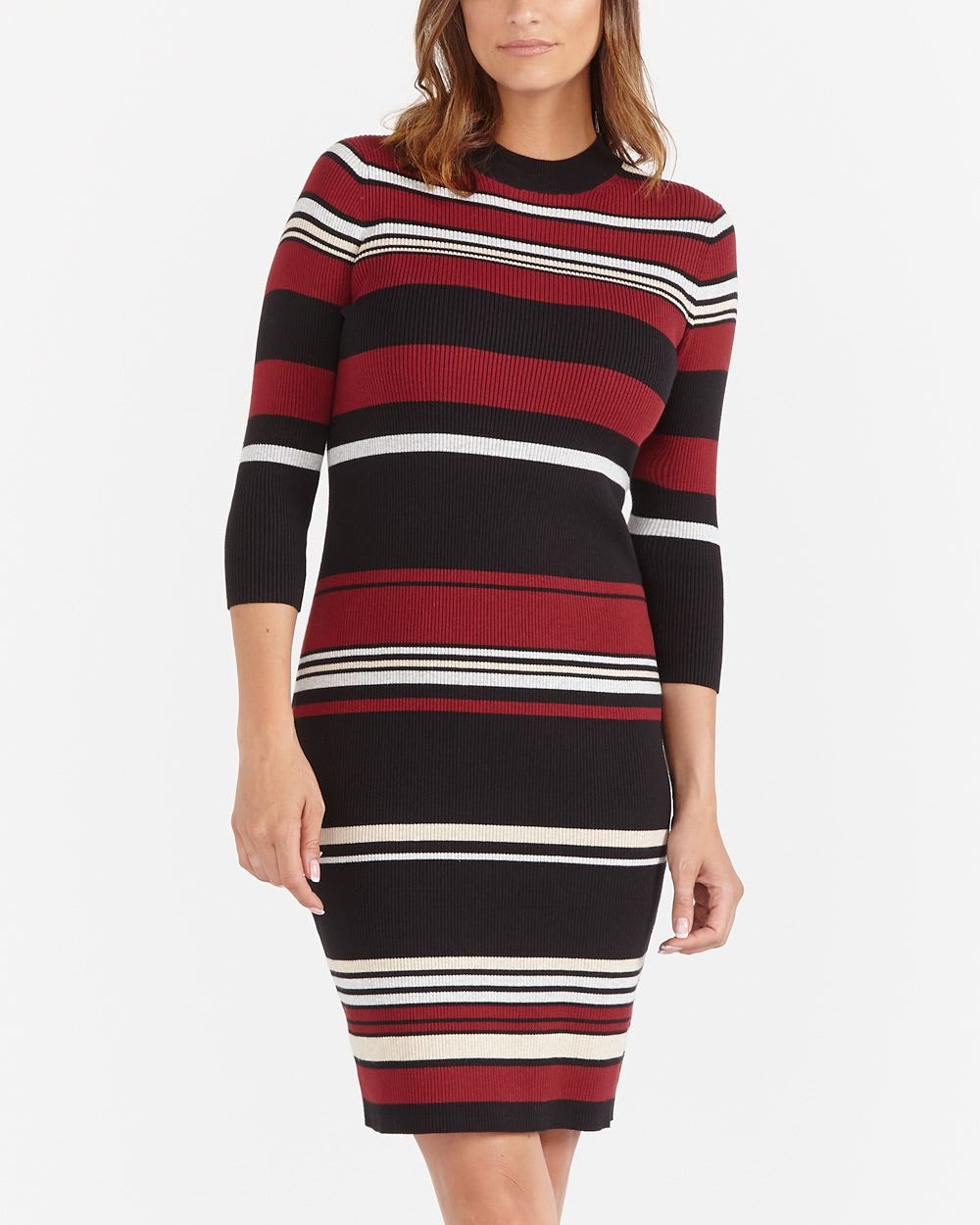 5f8ba78fc0c Striped Sweater Dress