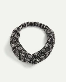 Knotted Tweed Effect Headband
