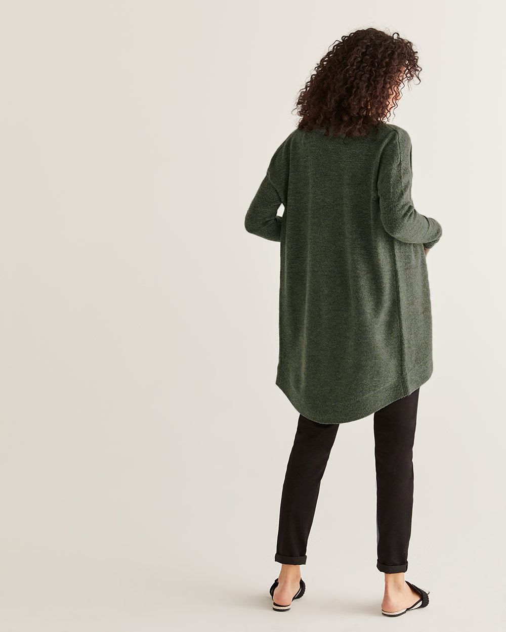 Long Sleeve Cocoon Cardigan