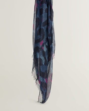 Abstract Animal Oblong Scarf