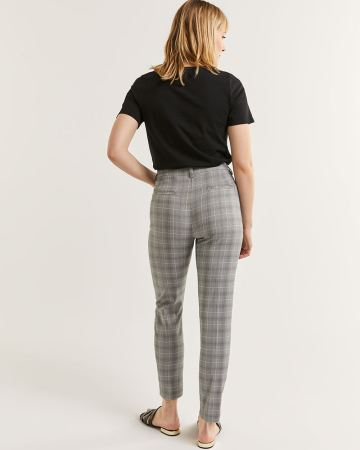 Pantalon à la cheville à carreaux L'Iconique