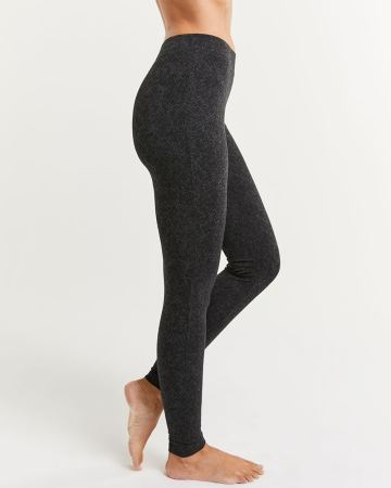 Cotton Blend Ultimate Comfort Textured Leggings