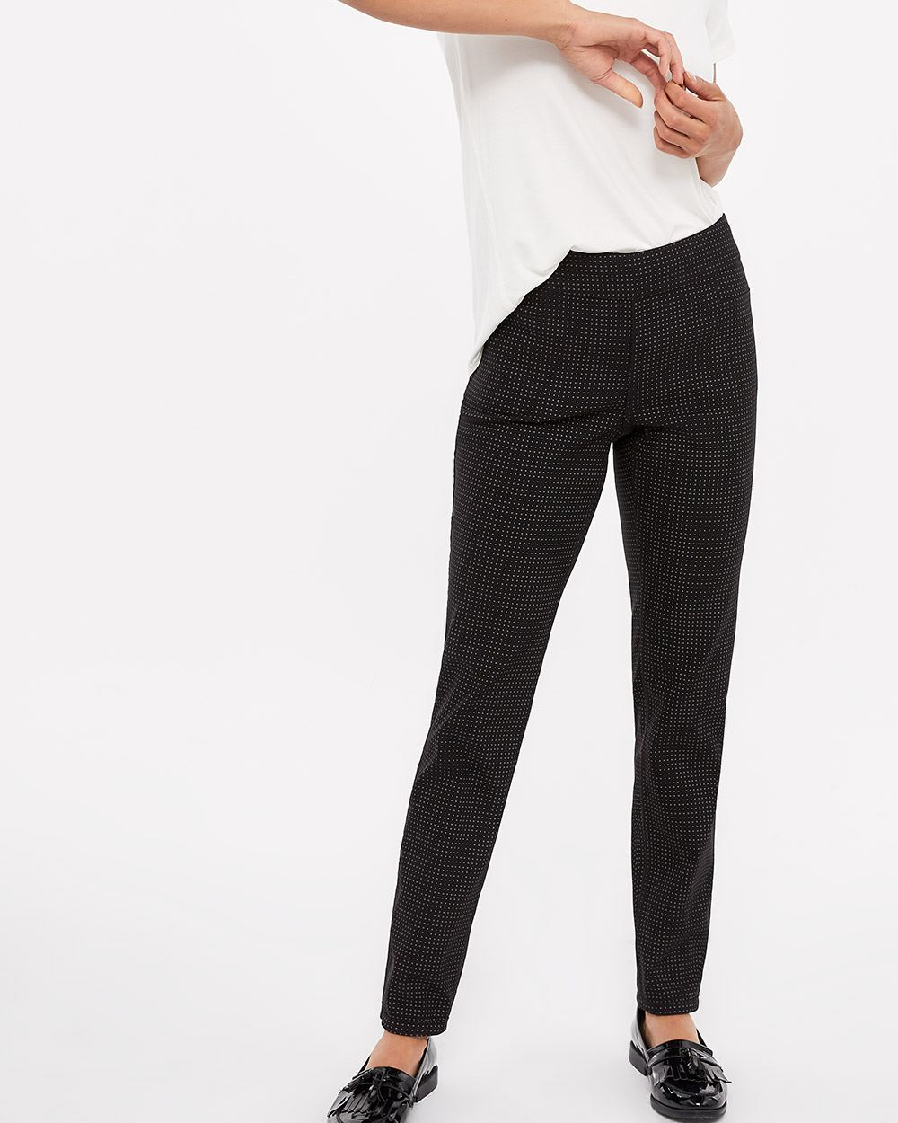 The Petite Iconic Straight Leg Reversible Pants