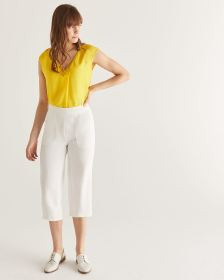 Willow & Thread Wide Leg Cropped Pants