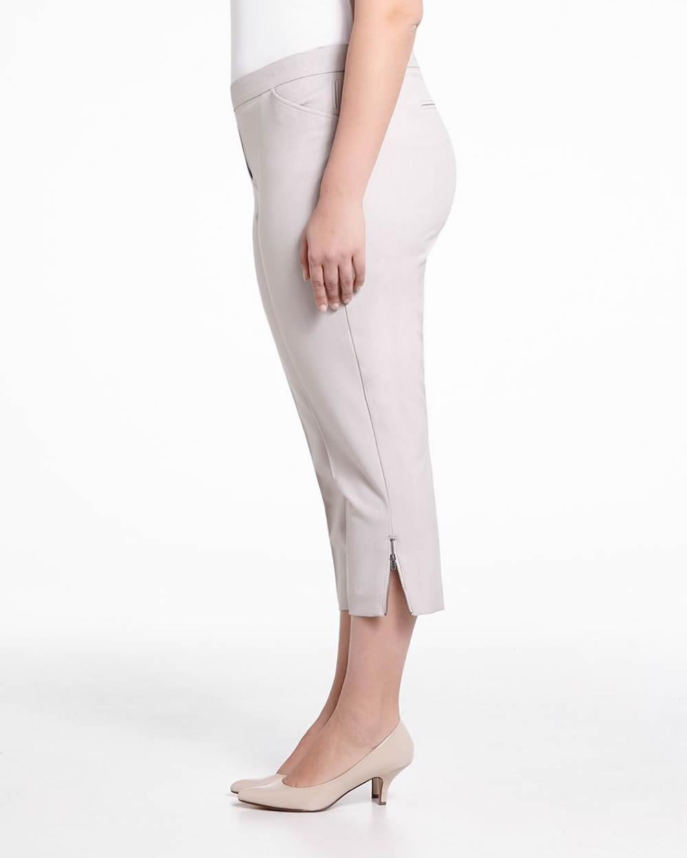 Plus Size Dress Capris Plus Sizes Shop Online At Reitmans