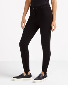 Zip Stirrup Leggings